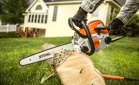 How To Use The Electric/Gas Chainsaw