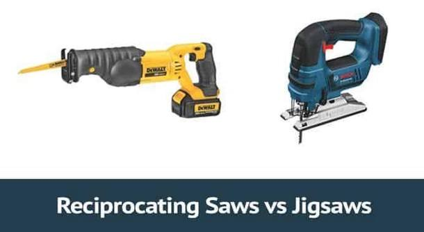 a reciprocating saw or a jigsaw