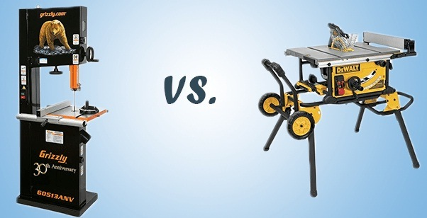 Band saws – A comparison with Table Saw