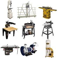 Woodworking stationary power tools